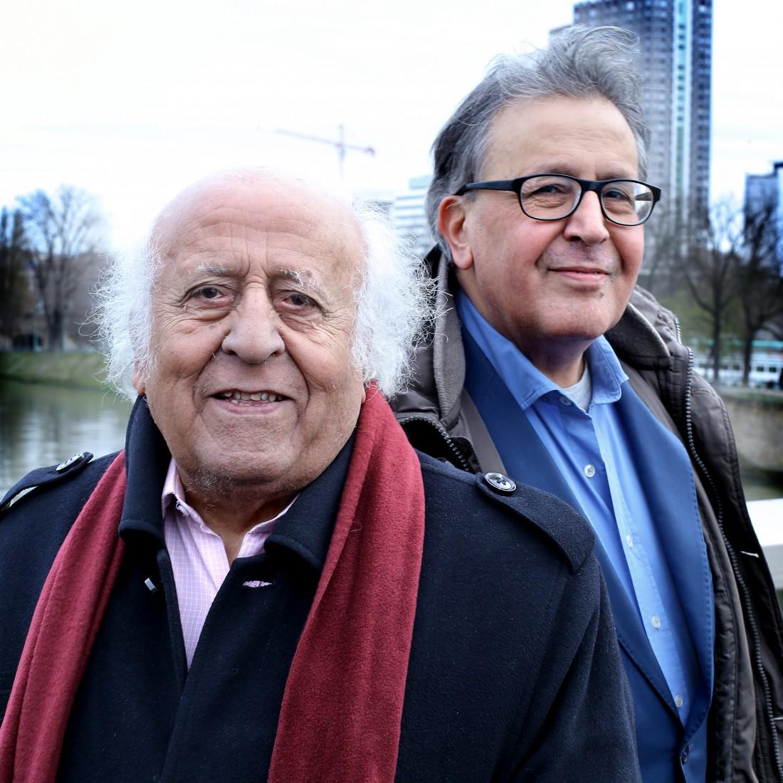 Victor et Salomon Malka (Bruno Coutier pour