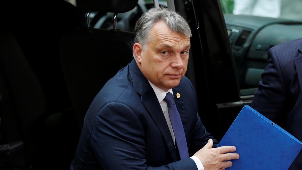 La Hongrie de Viktor Orban, qui tient un virulent discours anti-migrants, doit quitter l'UE estime le Luxembourg. REUTERS/Francois Lenoir