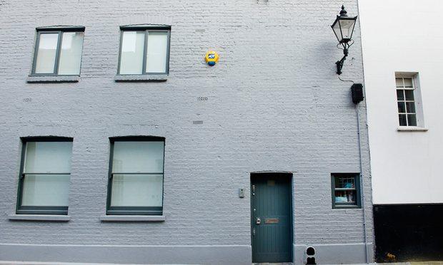 Une des maisons londoniennes des Blair. Photo : Linda Nylind pour le Guardian