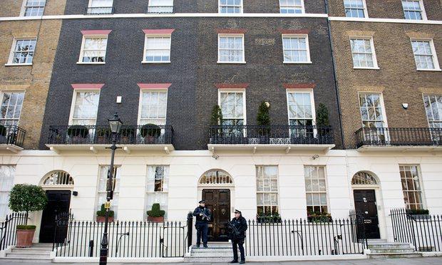 Propriété de Tony Blair et de sa famille. Photo : Linda Nylind pour le Guardian