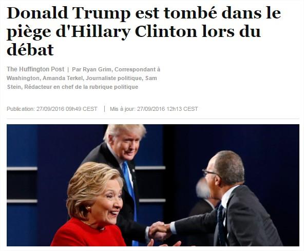 clinton trump