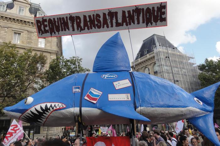 « Requin transtlantique », à Paris, à l'automne 2014.