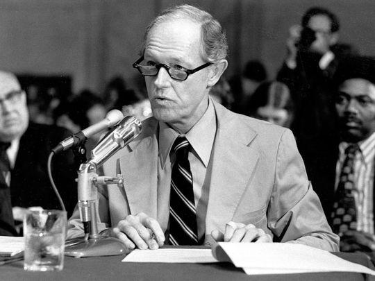 E. Howard Hunt en 1973. (Photo: File photo)