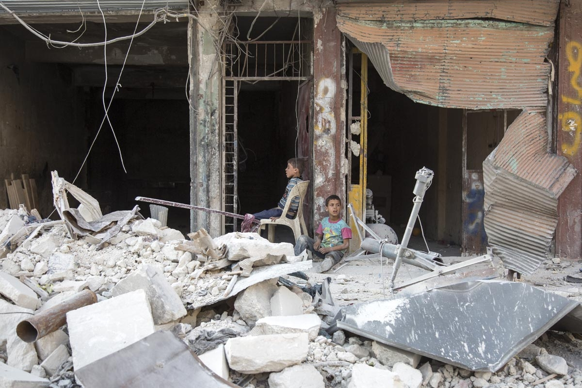 Alep, juillet 2016 (AFP / Karam Al-masri)