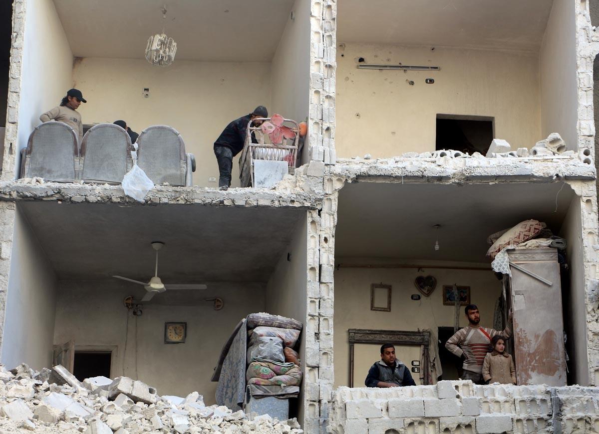 Alep, décembre 2015 (AFP / Karam Al-masri)
