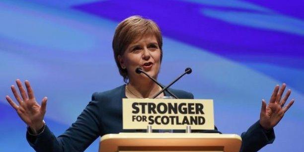 Nicola Sturgeon, premier ministre écossaise, a annoncé qu'elle lançait un nouveau référendum sur l'indépendance. (Crédits : RUSSELL CHEYNE)