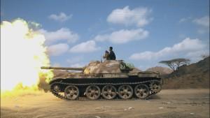 Une scène de PBS Frontline : le Yémen assiégé