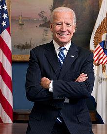 Le vice-président Joe Biden.