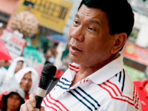 Le Président des Philippines Rodrigo Duterte (Photo credit: rodrigo-duterte.com)