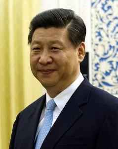 Le Président de la Chine Xi Jinping.