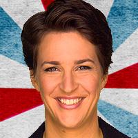 L'animatrice de MSNBC, Rachel Maddow.