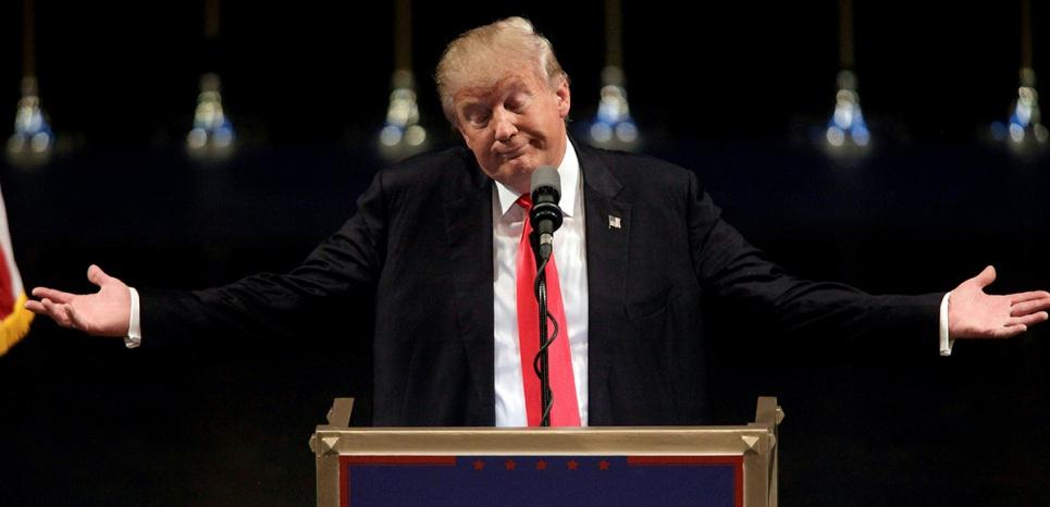 Donald Trump à Las Vegas, en juin 2013. (John Gurzinski/AFP)