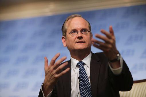 Lawrence Lessig, professeur de droit à Harvard, penseur d'Internet et initiateur de la licence Creative commons• Crédits : Chip Somodevilla - AFP