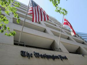 Les bureaux du Washington Post (Crédit photo: Daniel X. O'Neil)