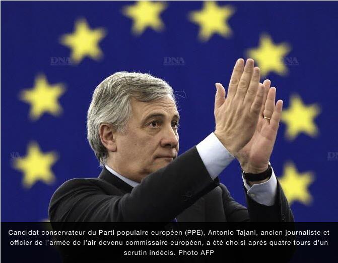Antonio Tajani, président mal élu