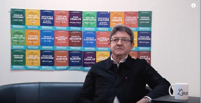 [Vidéo] Mélenchon à propos de France Inter