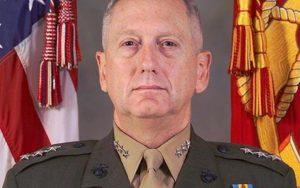 Le général des Marines James Mattis, à la retraite, choisi par le président élu Donald Trump pour le poste de secrétaire à la Défense.