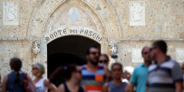 La BCE a-t-elle eu la dent trop dure contre Monte dei Paschi di Siena ? (Crédits : © Stefano Rellandini / Reuters)