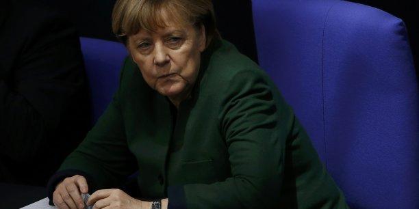 Quelle réponse de l'Allemagne à Donald Trump ? (Crédits : FABRIZIO BENSCH)