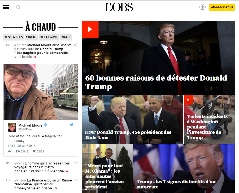 L'investiture de Donald Trump : une déclaration de guerre à la démocratie en 10 bombes, par Olivier Picard