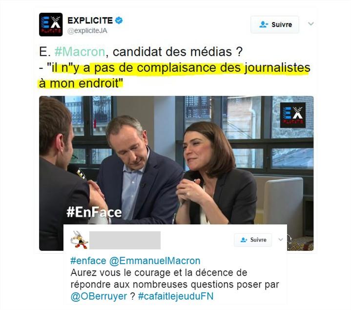 Explicite, la chaine par les ex journalistes d'i-Télé qui se prosternent devant Macron
