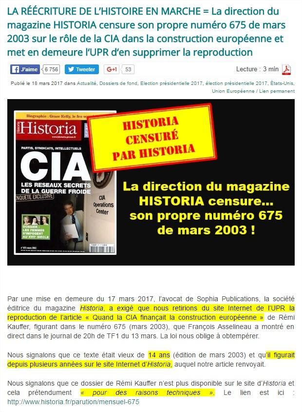 """scénario orwellien : """"Le Monde"""" crée le """"Decodex"""", comme l'Eglise avait son """"Index"""" Historia-3"""