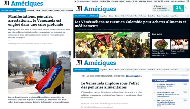 Venezuela: coup de projecteur sur les zones d´ombre médiatiques 1-5