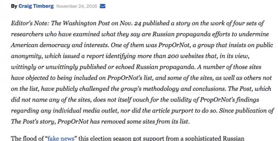 Le Washington Post obligé d'admettre que l'ingérence russe dans les élections US n'a pas existé (The Duran)  7-4