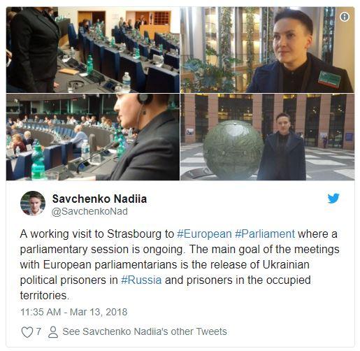 Affrontements en Ukraine : Ce qui est caché par les médias et les partis politiques pro-européens - Page 17 Savchenko-2