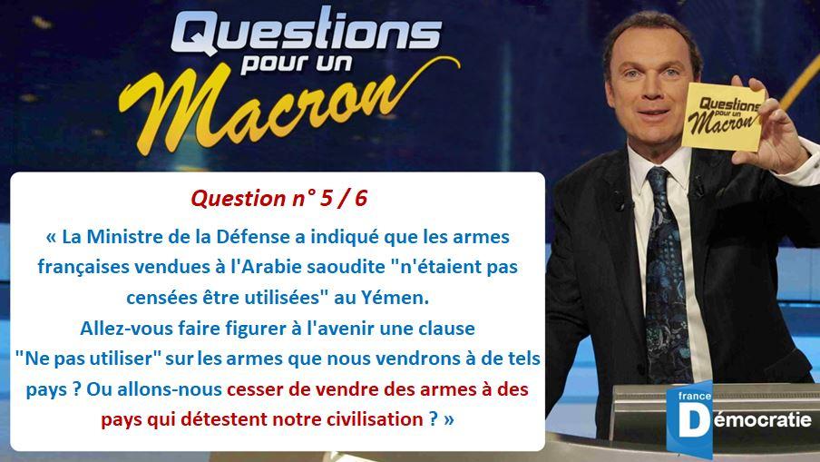 [Olivier Berruyer a besoin de nous !] Questions pour un Macron
