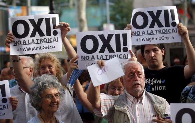 La Politique De La Troika En Grece Voler Le Peuple Grec Et Donner