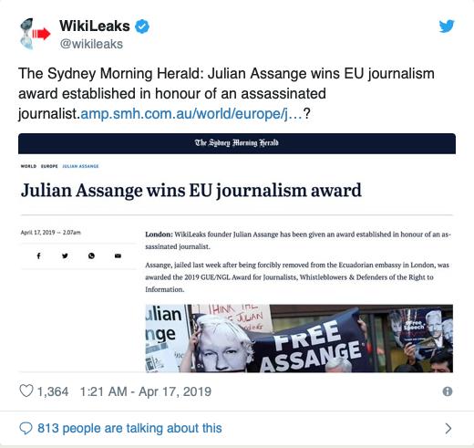 Les Révélations de WikiLeaks – N°1 – La vidéo qui a placé Assange dans le collimateur des États-Unis dans - DROITS Capture-d'écran-2019-08-05-à-14.25.39
