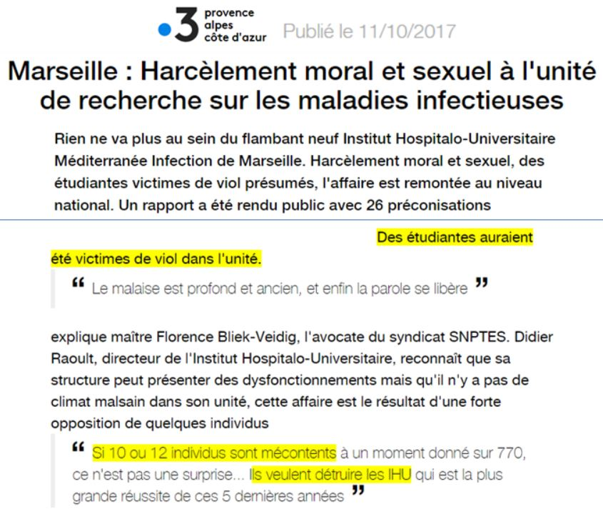 Le Professeur Didier Raoult: Rebelle Anti-Système ou Mégalomane sans éthique? par Olivier Berruyer, sur les-crises.fr